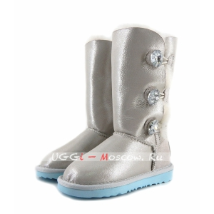 Ugg Kids Bailey Button Triplet I DO - White