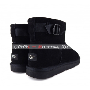 Ugg Men Classic Mini STRAP - Black