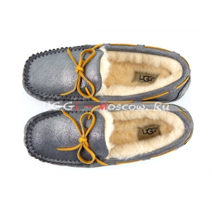 Ugg Women Moccasins Dakota Glitter - Grey