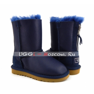 Ugg Kids ZIP Metallic - Navy