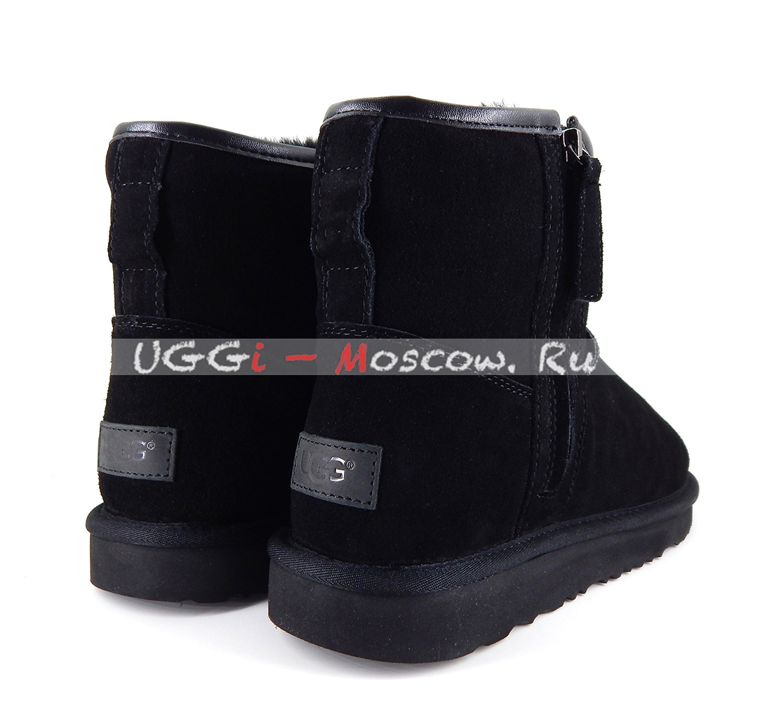 Ugg Men Classic Mini Zip Waterproof Black Uggi Moscowru