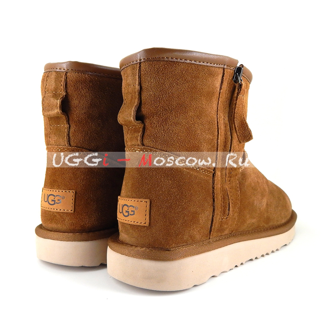 Ugg Men Classic Mini Zip Waterproof Chestnut Uggi Moscowru