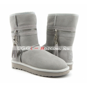 UGG & Jimmy Choo Zipper - Grey Violet