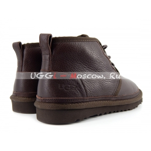 Ugg Mens Boots Neumel Metallic NEW - Chocolate