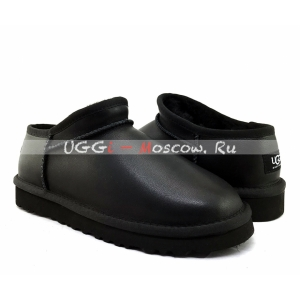UGG Slipper TASMAN Metallic - Black