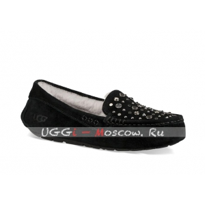 Ugg Ansley Studded Bling Slipper - Black