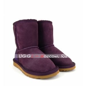 Ugg Kids Classic - Burgundy and Navy