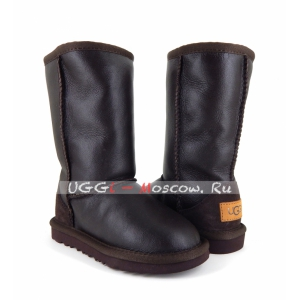Ugg Kids Metallic II Tall - Chocolate