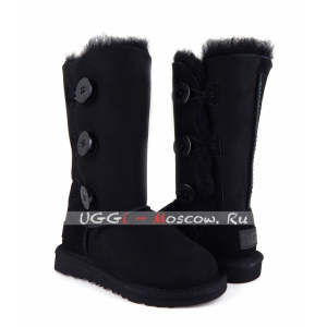 Ugg Kids Bailey Button II Triplet - Black