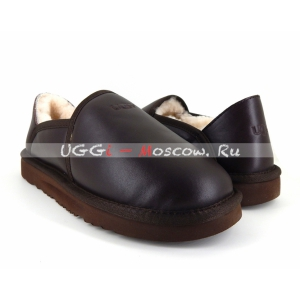 Ugg Men Slip-On KENTON Metallic - Chocolate