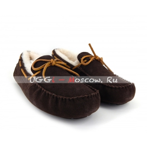 Ugg Men Moccasins OLSEN - Chocolate