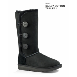 BAILEY BUTTON TRIPLET II BLACK