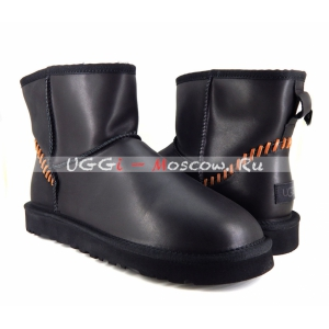 Ugg Men Classic Mini DECO NEW - Black