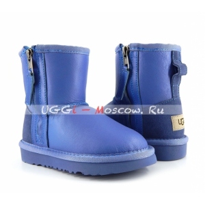 Ugg Kids ONE ZIP Metallic - Blue Wave