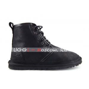 Ugg Men HARKIEY WATERPROOF Bomber - Black