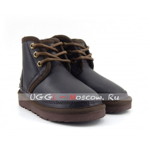 Ugg Kids Boots Neumel II Metallic - Chocolate