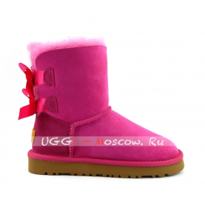 Ugg Kids Toddlers Bailey Bow II - Pink
