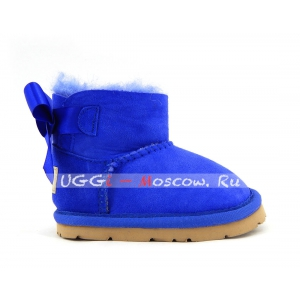 Ugg For Babies Bailey Bow - Electric Blue