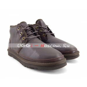 Ugg Mens Boots Neumel II Metallic - Chocolate