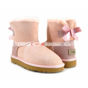 Ugg Women Bailey Bow II Mini - Pink