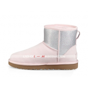 Ugg Classic Mini SPARKLE BOOT - Seashell Pink