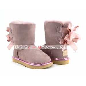 UGG Kids Bailey Bow II Metallic - Dusk