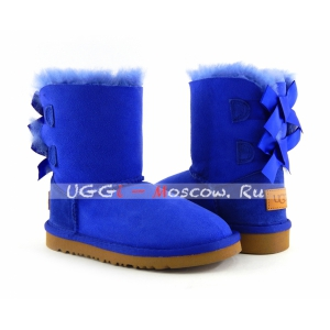 Ugg Kids Bailey Bow II - Electric Blue