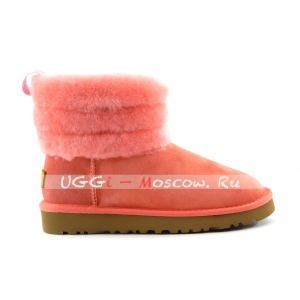 Ugg Classic Mini FLUFF QUILTED BOOT - Rose