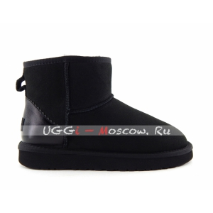 Ugg Women Classic Mini II Metallic - Black