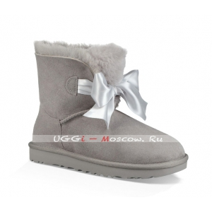 Ugg GITA Bow Mini Boot - Seal