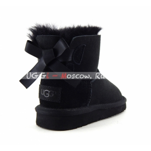 Ugg Kids Mini Bailey Bow II - Black