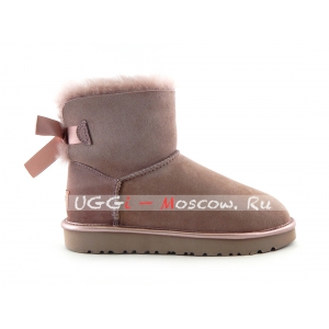 Ugg Mini Bailey Bow II Metallic - Dusk