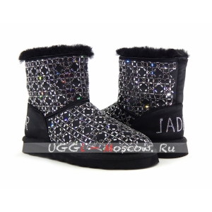 Ugg Classic Christian Dior Boot - Black