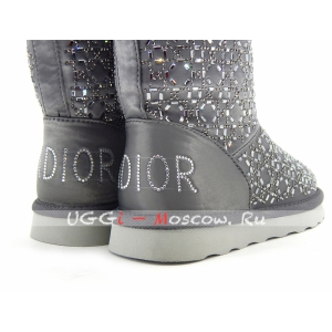 Ugg Classic Christian Dior Boot - Grey