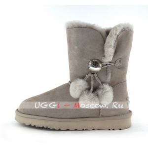 Ugg Women Bailey Button POM - Seal