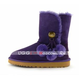 Ugg Women Bailey Button POM - Violet
