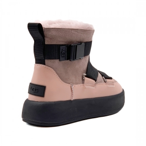 Ugg Classic BOOM BUCKLE Boot - Pink Crystal