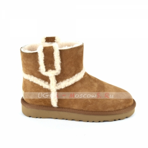 Ugg Classic Mini SPILL SEAM Boot - Chestnut