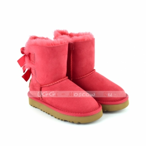 Ugg Kids Toddlers Bailey Bow II - Red
