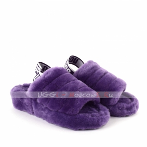 Ugg Fluff Yeah Slide - Violet Bloom