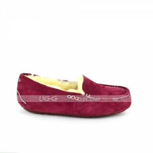 Ugg Moccasins Ansley - Red Wine