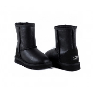UGG Kids Classic Metallic - Black
