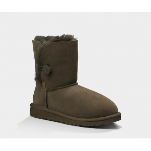 UGG Kids Bailey Button II - Chocolate