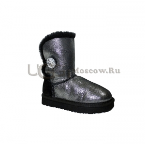UGG Kids Bailey Bling Glitter - Black