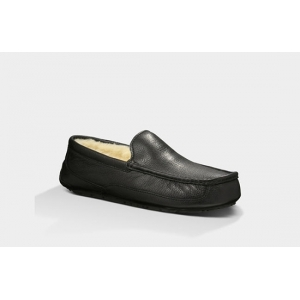UGG Men Ascot Leather - Black