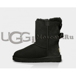 Ugg Kids Toddlers Bailey Bow - Black
