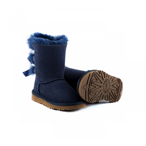 Ugg Kids Toddlers Bailey Bow - Navy