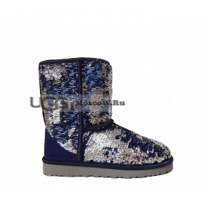 Ugg Women Sparkles - Multi Silver Blue
