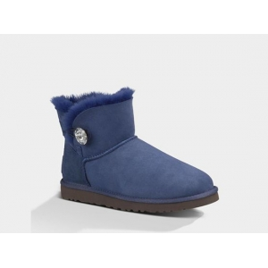 UGG Bailey Button Mini Bling - Navy