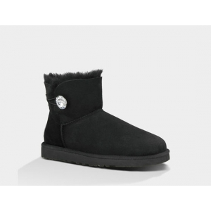 UGG Bailey Button Mini Bling - Black